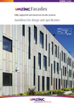 VMZINC Facades Guidelines for Design & Specification
